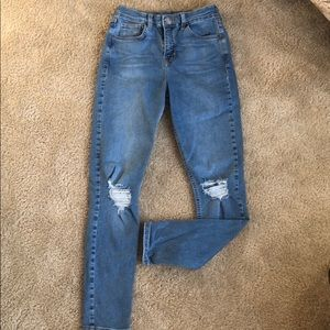 High rise Jamie TOPSHOP Jeans Size 28